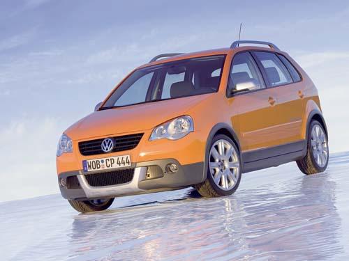 Volkswagen polo cross