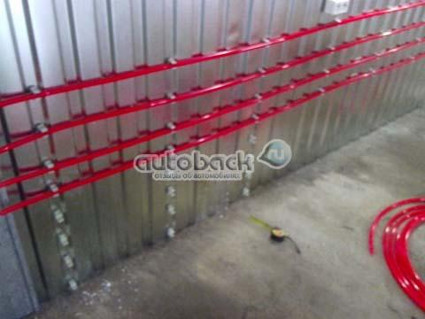 отопление гаража своими руками фото
