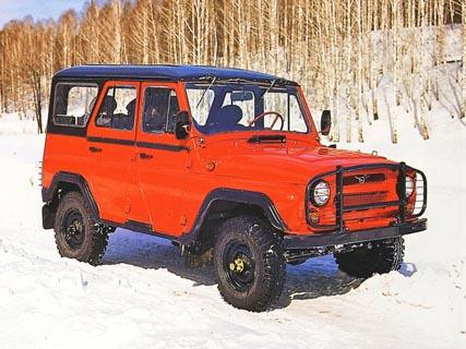 Отзывы о УАЗ 3151 (УАЗ 469)
