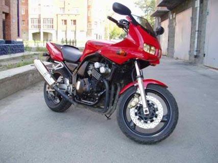 Отзывы о Yamaha FZ 400 (Ямаха ФЗ 400)
