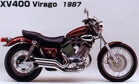 virago 400