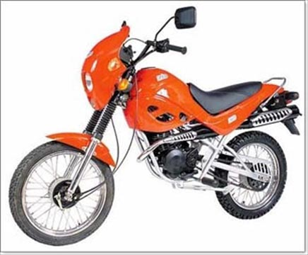 мотоцикл ЗИД 50