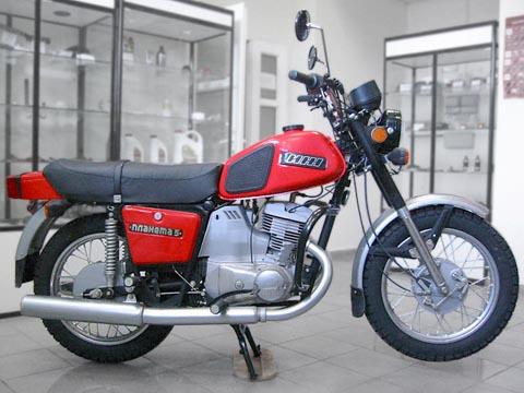 Отзывы о мотоцикле ИЖ Планета 5