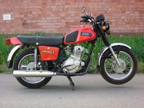 планета 7 мотоцикл