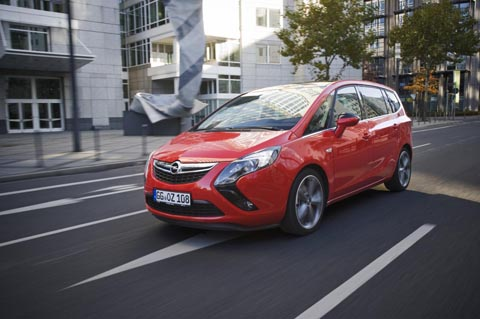 Отзывы об Opel Zafira Tourer (Опель Зафира Турер)