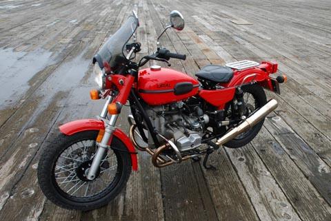 мотоцикл Ural соло