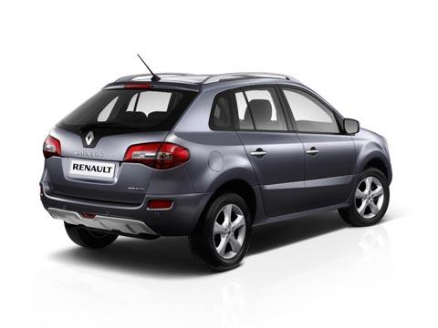 Renault Koleos габаритные размеры