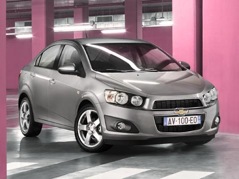 автомобиль Chevrolet Aveo