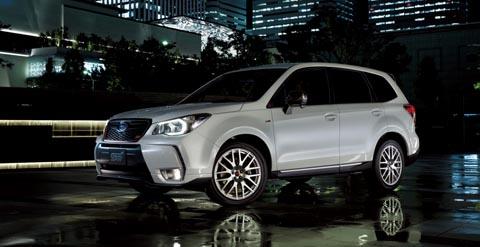 В Японии состоялась официальная премьера Subaru Forester tS STi