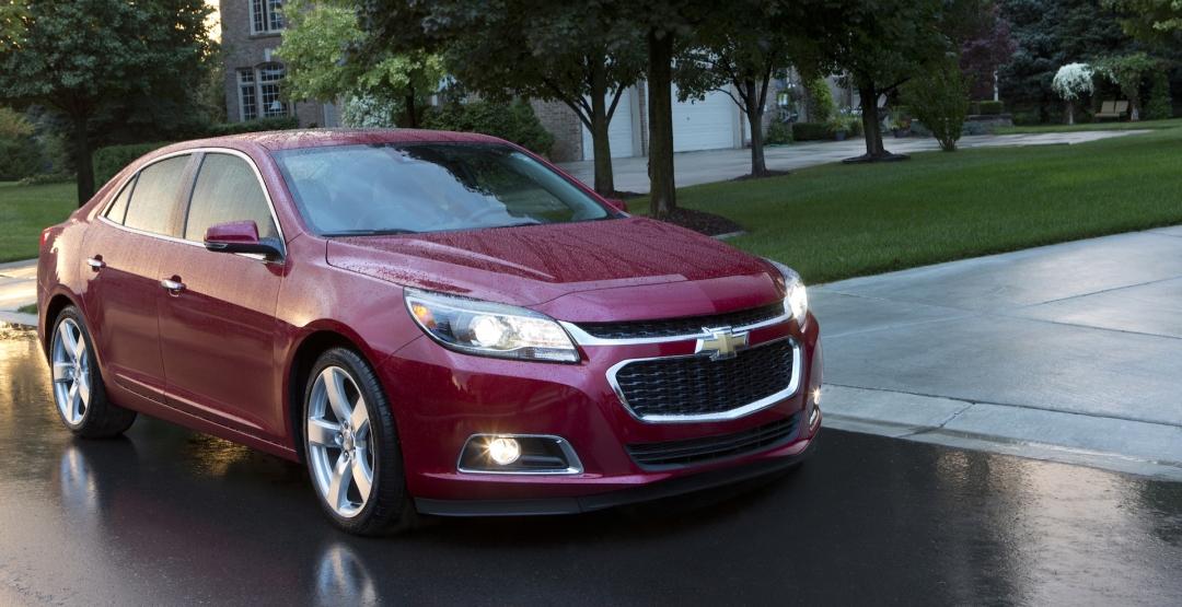 Компания Chevrolet прекратила продажи седана Malibu в России