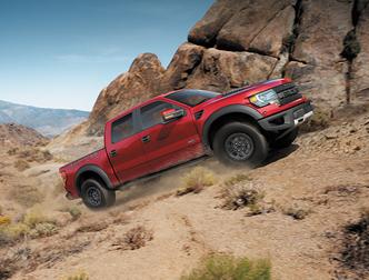 В Детройте состоится показ пикапа Ford 150 SVT Raptor