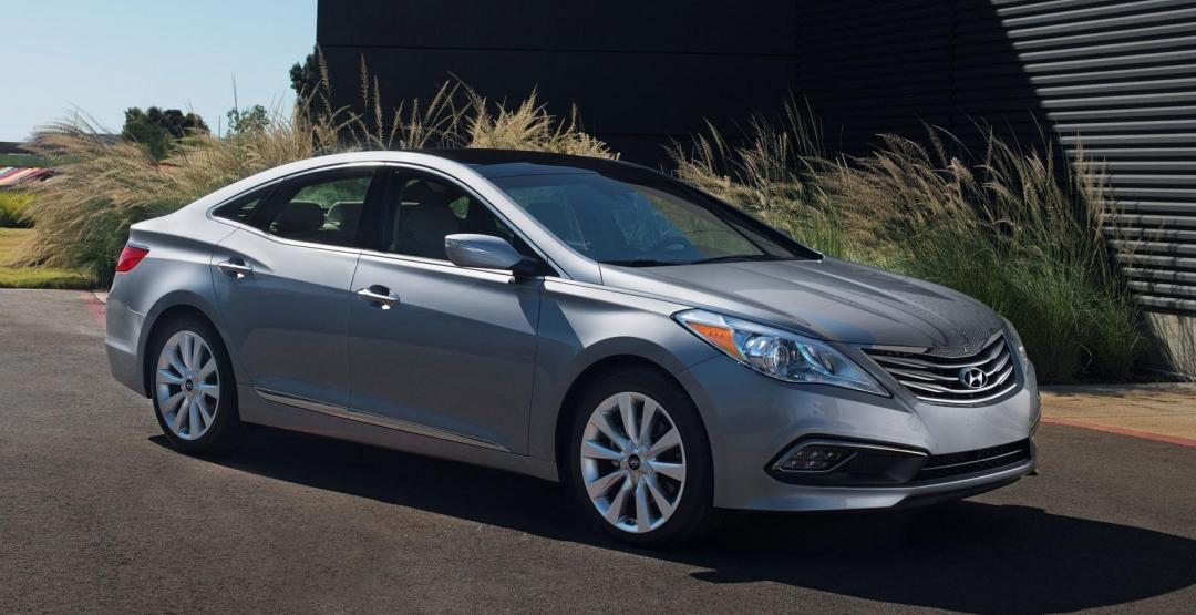Компания Hyundai анонсировала обновленный седан Azera