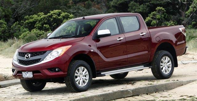 Mazda обновит пикап BT-50