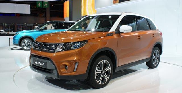 В 2015-ом году на российском рынке появится обновленный кроссовер Suzuki Vitara