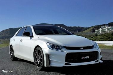 Toyota анонсировала спецверсию седана Mark X