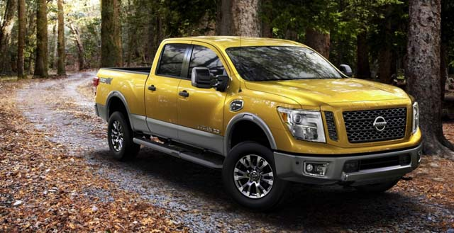 Nissan представила модель Titan XD 2016