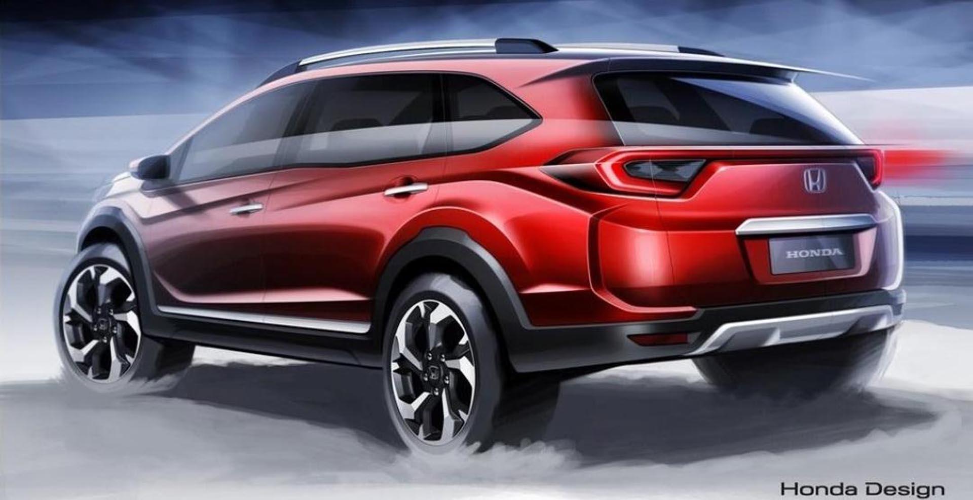 Honda рассекретила 7-местный внедорожник BR-V