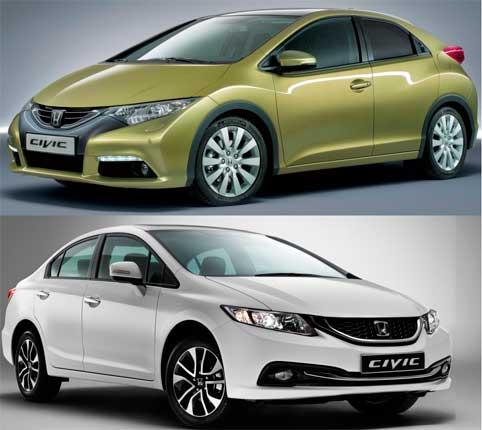 Отзывы о Хонда Цивик 2015 (Honda Civic 2015)