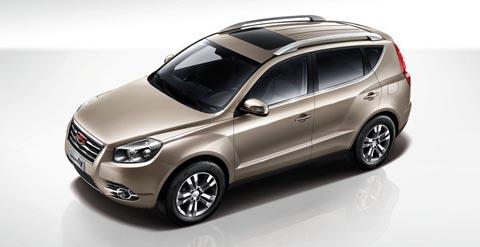 Обновленный Geely Emgrand X7 приедет в Россию осенью