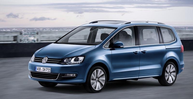 Volkswagen рассказал о комплектациях обновленного минивэна Sharan