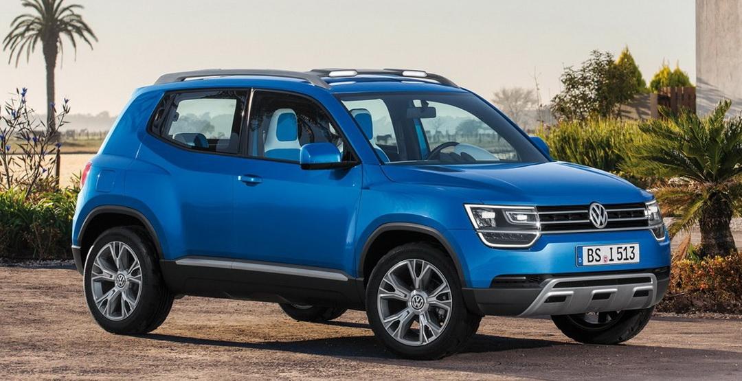 VW отказался от планов по выпуску компактного кроссовера Тайгун