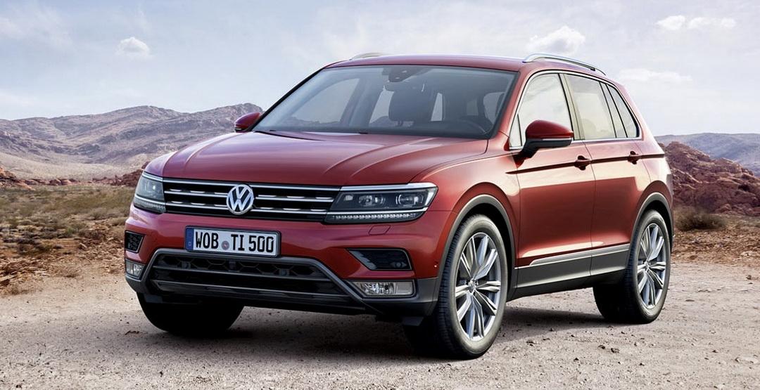 VW Tiguan получит новые модификации