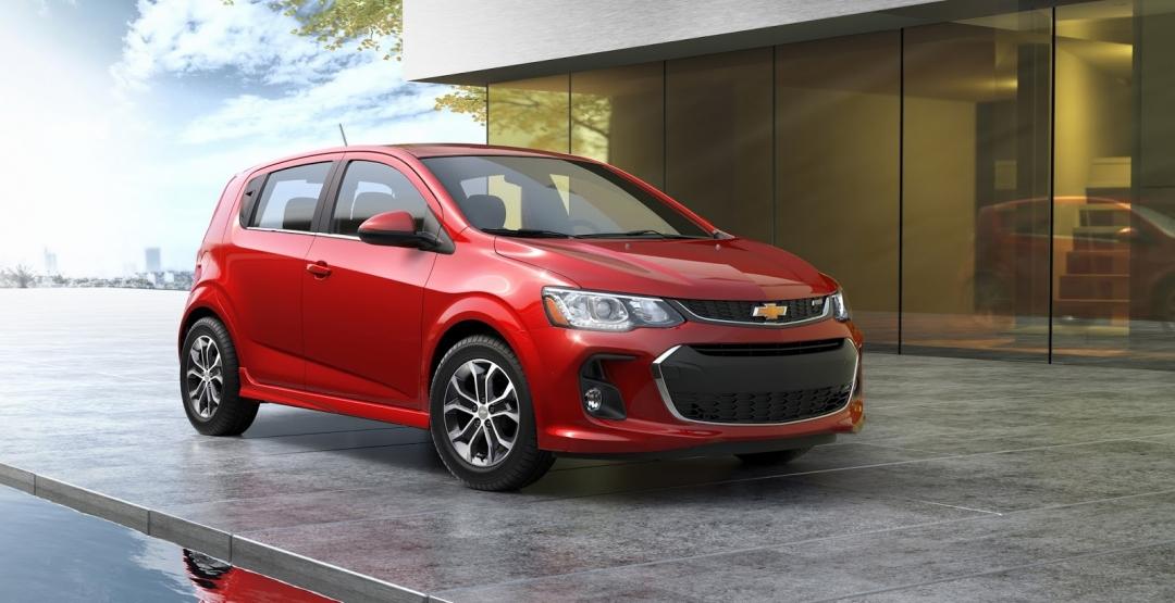 Chevrolet представляет Sonic 2017 года в США