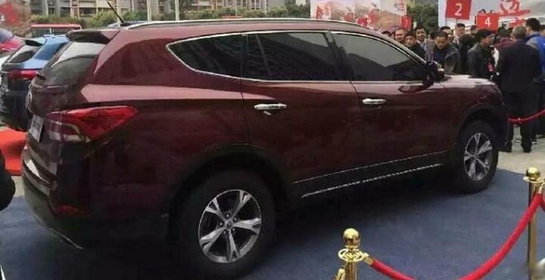 Новый Лифан Х80 продемонстрировали китайским дилерам