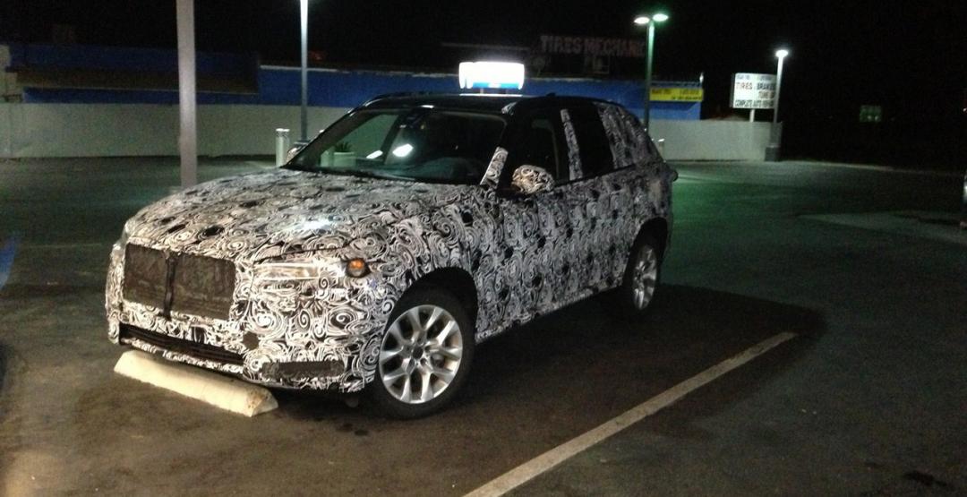 Появились первые шпионские фотографии BMW X7