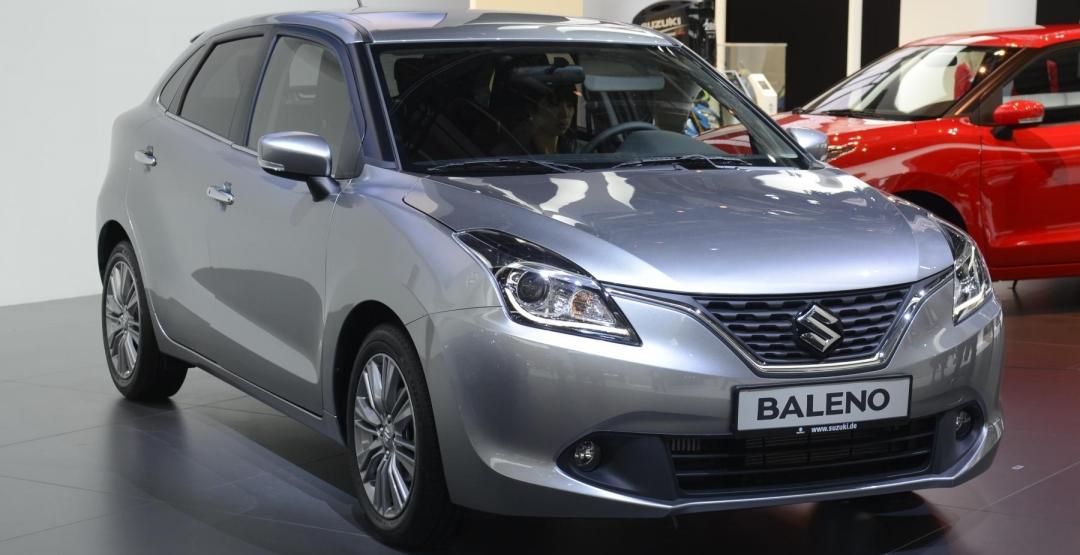 Suzuki начнет продажи нового хетчбэка Baleno в апреле 2016