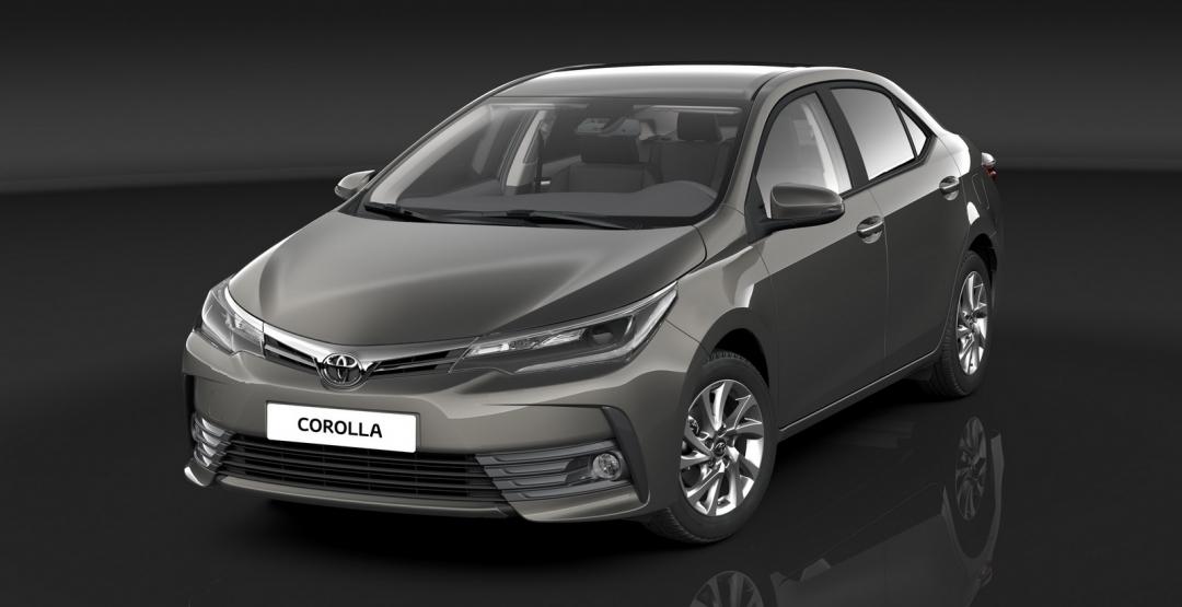 Toyota представила Короллу 2017 модельного года