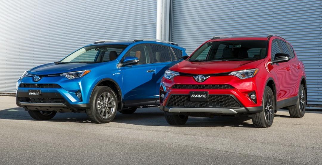 Тойота представила в России новую комплектацию для RAV4