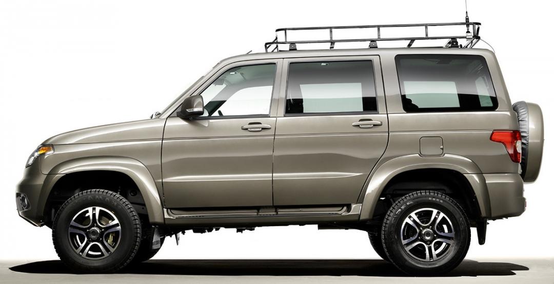 УАЗ разрабатывает новый внедорожник с индексом 3170