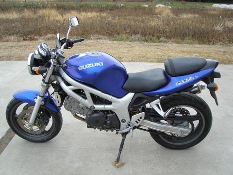 Отзывы о Сузуки СВ 400 (Suzuki SV 400)