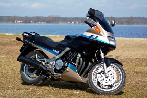 Отзывы о Yamaha FJ 1200 (Ямаха FJ 1200)