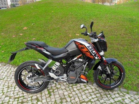 Отзывы о КТМ 125 Дюк (KTM 125 Duke)
