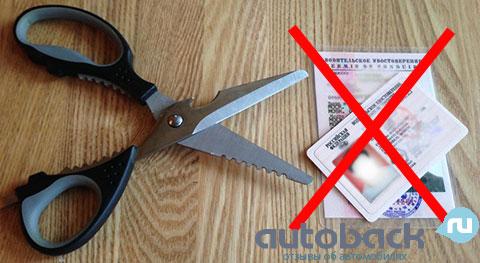 Срок лишения водительских прав