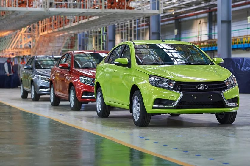 АвтоВаз выпустит 12 новых моделей Лада к 2026 году