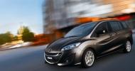 Обновленный компактвэн Mazda 5 лишился некоторых опций и механической коробки передач