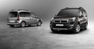 Peugeot обновил модель Partner