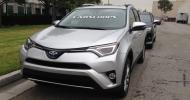 Обновленный кроссовер Toyota RAV4 «засветился» в Интернете