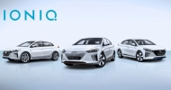 Hyundai рассекретил свою новую модель IONIQ