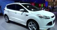 Форд продемонстрировал обновленный кроссовер Куга в Женеве