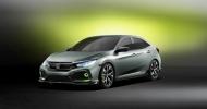 Honda показал новый Сивик в кузове хечтбэк