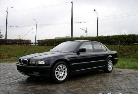 все о автомобиле BMW 7 e38