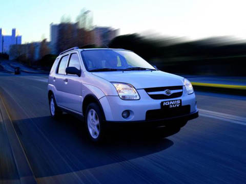 Отзывы о Suzuki Ignis (Сузуки Игнис)