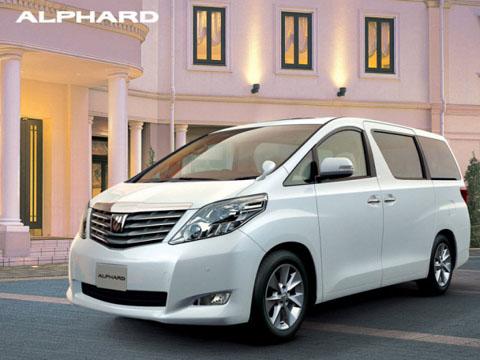 Отзывы о Toyota Alphard (Тойота Альфард)