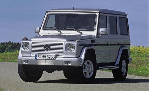 Отзывы о Mercedes G500 Brabus (Мерседес Ж500 Брабус)