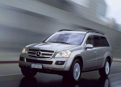 Отзывы о Mercedes GL500 (Мерседес ЖЛ500)