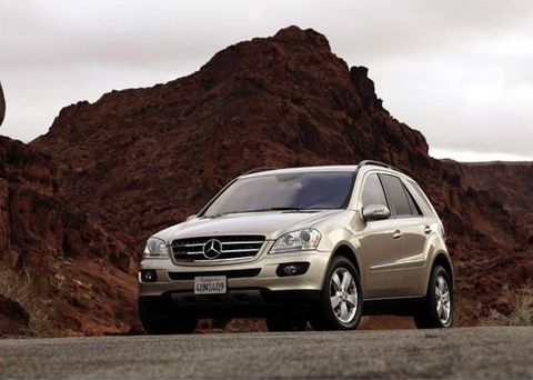 Отзывы о Mercedes ML500 (Мерседес МЛ500)
